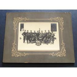 GRANDE PHOTO 1908 SECTION DES TELEPHONISTES DU 69 ème DE LIGNE