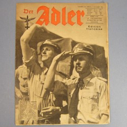 DER ADLER JOURNAL DE PROPAGANDE AVIATION ALLEMANDE N°20 DU 5 OCTOBRE 1943 LUFTWAFFE