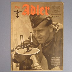 DER ADLER JOURNAL DE PROPAGANDE AVIATION ALLEMANDE N°22 DU 2 NOVEMBRE 1943 LUFTWAFFE