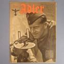 DER ADLER JOURNAL DE PROPAGANDE AVIATION ALLEMANDE N°22 DU 2 NOVEMBRE 1943 LUFTWAFFE