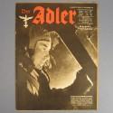 DER ADLER JOURNAL DE PROPAGANDE AVIATION ALLEMANDE N°23 DU 16 NOVEMBRE 1943 LUFTWAFFE