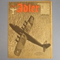 DER ADLER JOURNAL DE PROPAGANDE AVIATION ALLEMANDE N°6 DU 21 MARS 1944 LUFTWAFFE