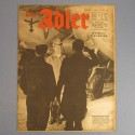 DER ADLER JOURNAL DE PROPAGANDE AVIATION ALLEMANDE N°3 DU 8 FEVRIERE 1944 LUFTWAFFE