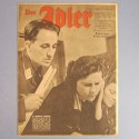 DER ADLER JOURNAL DE PROPAGANDE AVIATION ALLEMANDE N°2 DU 25 JANVIER 1944 LUFTWAFFE