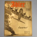 DER ADLER JOURNAL DE PROPAGANDE AVIATION ALLEMANDE N°13 DU 1 JUILLET 1941 LUFTWAFFE
