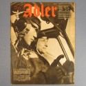 DER ADLER JOURNAL DE PROPAGANDE AVIATION ALLEMANDE N°8 DU 22 AVRIL 1941 LUFTWAFFE