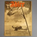 DER ADLER JOURNAL DE PROPAGANDE AVIATION ALLEMANDE N°12 DU 17 JUIN 1941 LUFTWAFFE