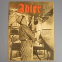 DER ADLER JOURNAL DE PROPAGANDE AVIATION ALLEMANDE N°6 DU 23 MARS 1943 LUFTWAFFE