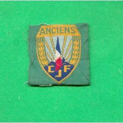ANCIENS DES DE BERET TISSU CHANTIERS DE JEUNESSE CJF