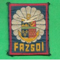 INSIGNE TISSU FAZSOI FORCES ARMEES ZONE SUD OCEAN INDIEN