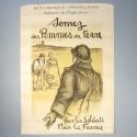 AFFICHE PATRIOTIQUE MINISTERE DE L'AGRICULTURE SEMEZ DES POMMES DE TERRE GUERRE 1914-1918