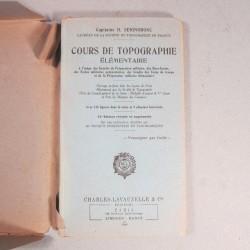 MANUEL INSTRUCTION MILITAIRE CHARLES-LAVAUSELLE COURS DE TOPOGRAPHIE ELEMENTAIRE