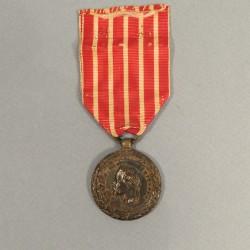 MEDAILLE DE LA CAMPAGNE D'ITALIE NAPOLEON III 1859 SIGNEE BARRE