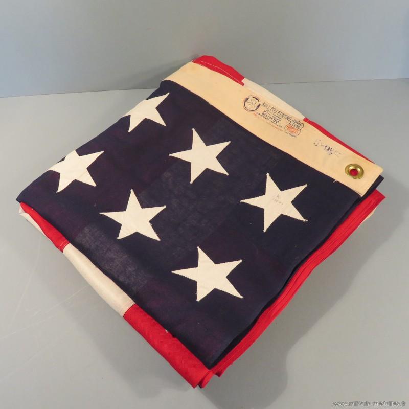 u s a grand drapeau fabrication bull dog bunting dettras flag 5x9 1 2 48 etoiles cousues