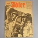 DER ADLER JOURNAL DE PROPAGANDE AVIATION ALLEMANDE N°20 DU 5 OCTOBRE 1943 LUFTWAFFE