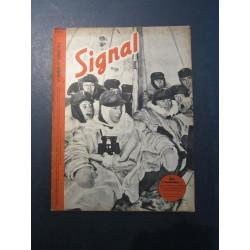 SIGNAL JOURNAL DE PROPAGANDE ALLEMANDE 2ème NUMERO DE FEVRIER 1942 N°4