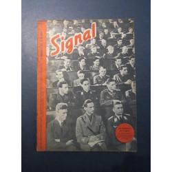 SIGNAL JOURNAL DE PROPAGANDE ALLEMANDE 1er NUMERO DE JUIN 1942 N°11