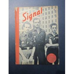 SIGNAL JOURNAL DE PROPAGANDE ALLEMANDE 1er NUMERO D'OCTOBRE 1943 N°19