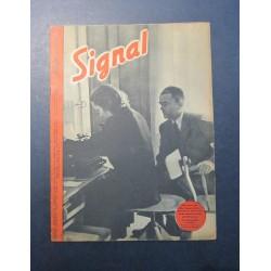 SIGNAL JOURNAL DE PROPAGANDE ALLEMANDE 1 er NUMERO DE AOUT 1943 N°15