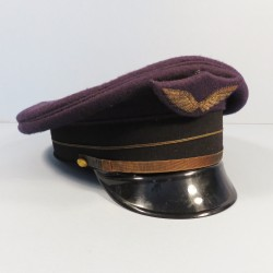 CASQUETTE AVIATION ANNEES 1950 ADJUDANT TAILLE 56