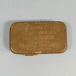 PANSEMENT INDIVIDUEL US FIRST AID PACKET 1916 WW1