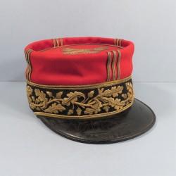 SUPERBE !! KEPI DE GENERAL DE BRIGADE MODELE 1884-1892 FABRICATION BIDAL PARIS