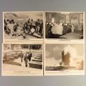 POCHETTE DE 8 PHOTOS DES ACTUALITES ALLEMANDE 16-6-1941 AKTUELLER BILDERDIENST TROUPES EN CRETE