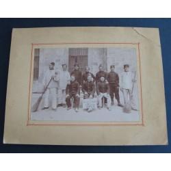 """GRANDE PHOTO DU 58 ème REGIMENT D'INFANTERIE DE LIGNE """"LES VAUCLUSIENS"""" CLASSE 1901"""