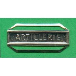 BARRETTE ARTILLERIE POUR LA MEDAILLE DE LA DEFENSE NATIONALE