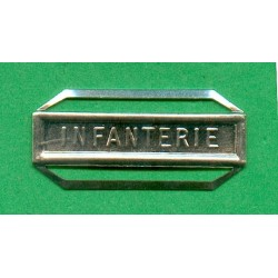 BARRETTE INFANTERIE POUR LA MEDAILLE DE LA DEFENSE NATIONALE