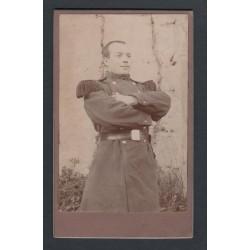 PHOTO CDV D'UN SOLDAT AU 86 ème REGIMENT D'INFANTERIE DE LIGNE