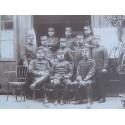 GRANDE PHOTO DES OFFICIERS DU 1 er ET 37 ème REGIMENT D'ARTILLERIE