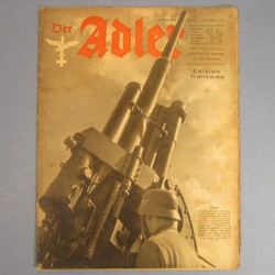 DER ADLER JOURNAL DE PROPAGANDE AVIATION ALLEMANDE N°24 DU 2 DECEMBRE 1941 LUFTWAFFE