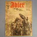 DER ADLER JOURNAL DE PROPAGANDE AVIATION ALLEMANDE N°25 DU 16 DECEMBRE 1941 LUFTWAFFE