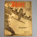 DER ADLER JOURNAL DE PROPAGANDE AVIATION ALLEMANDE N°13 DU 1 JUILLET 1941 LUFTWAFFE