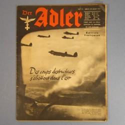 DER ADLER JOURNAL DE PROPAGANDE AVIATION ALLEMANDE N°15 DU 29 JUILLET 1941 LUFTWAFFE