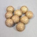 BOUTONS MILITAIRES INTENDANCE DIAMETRE 2.1 cm EPOQUE 1870-1945