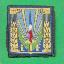 INSIGNE TISSU GENERAL CHANTIERS DE JEUNESSE CJF
