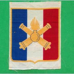 INSIGNE TISSU ARTILLERIE POUR MAILLOT DE SPORT ARMEE FRANCAISE WW2