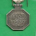 MEDAILLE BELGE DU CENTENAIRE DE L'INDEPENDANCE 1830 - 1930