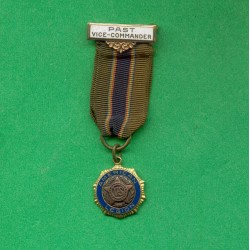 REDUCTION DE LA MEDAILLE DE L'AMERICAN LEGION VETERANS BARRETTE PAST VISE-COMMANDEUR