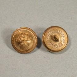 BOUTONS MILITAIRES INFANTERIE DIAMETRE 2.1 cm EPOQUE 1870-1945