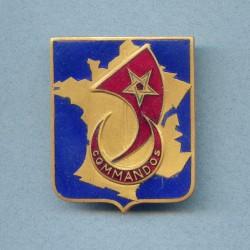 INSIGNE DES COMMANDOS D'AFRIQUE 44-45 ARTHUS BERTRAND PARIS