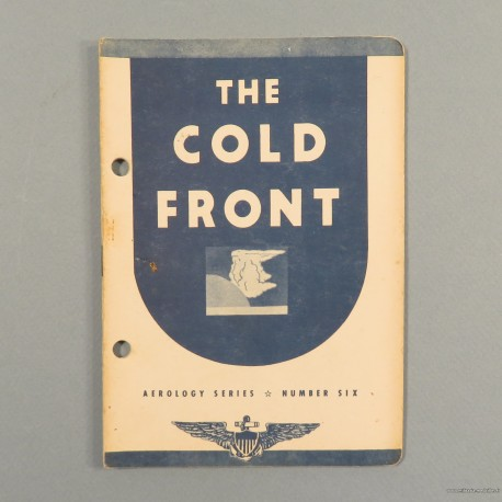 MANUEL OFFICIEL US AVIATION PILOTE THE COLD FRONT US NAVY AEROLOGY SERIES N°6