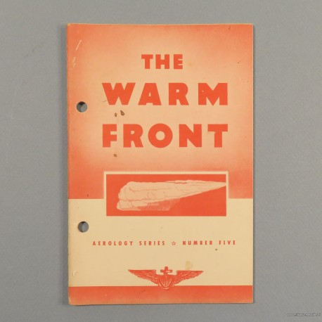 MANUEL OFFICIEL US AVIATION PILOTE THE WARM FRONT US NAVY AEROLOGY SERIES N°5