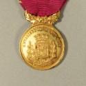 MEDAILLE D'HONNEUR DES ANCIENS SOUS-OFFICIERS DE LA VILLE DE ST HIPPOLYTE DU FORT GUERRE DE 1870 EN BOITE