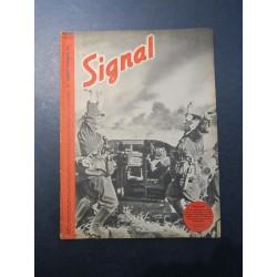 SIGNAL JOURNAL DE PROPAGANDE ALLEMANDE 2ème NUMERO DE NOVEMBRE 1941 N°22