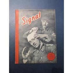 SIGNAL JOURNAL DE PROPAGANDE ALLEMANDE 2ème NUMERO D'AVRIL 1942 N°8