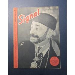 SIGNAL JOURNAL DE PROPAGANDE ALLEMANDE 2ème NUMERO DE MARS 1943 N°6
