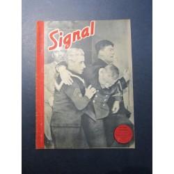 SIGNAL JOURNAL DE PROPAGANDE ALLEMANDE 1er NUMERO DE DECEMBRE 1943 N°23